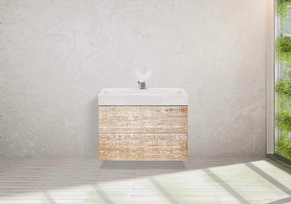 Möbel im Bad Waschtischunterschrank Oak Patina