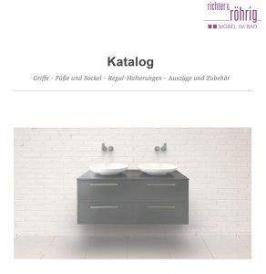 Möbel im Bad - Einrichtung nach Maß - Katalog Griffe und Zubehör