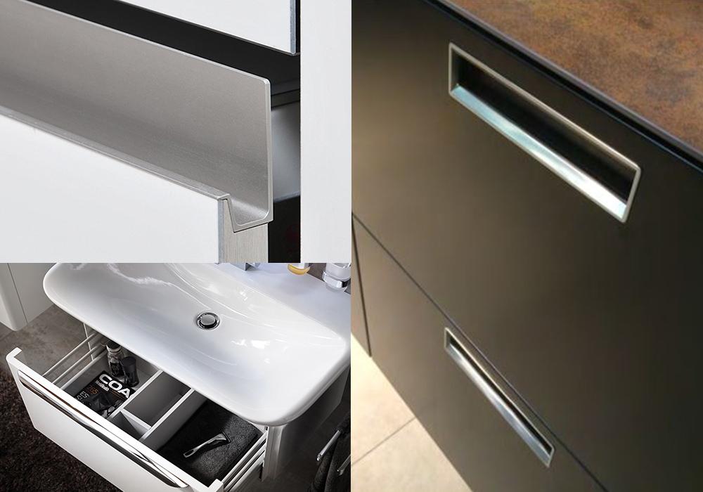 Möbel im Bad individuelles Zubehör für Ihr Bad: Handtuchhalter, Griffe, Regalorganisation und vieles mehr